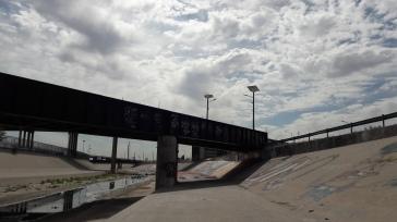 "The infamous ""Black Bridge"""